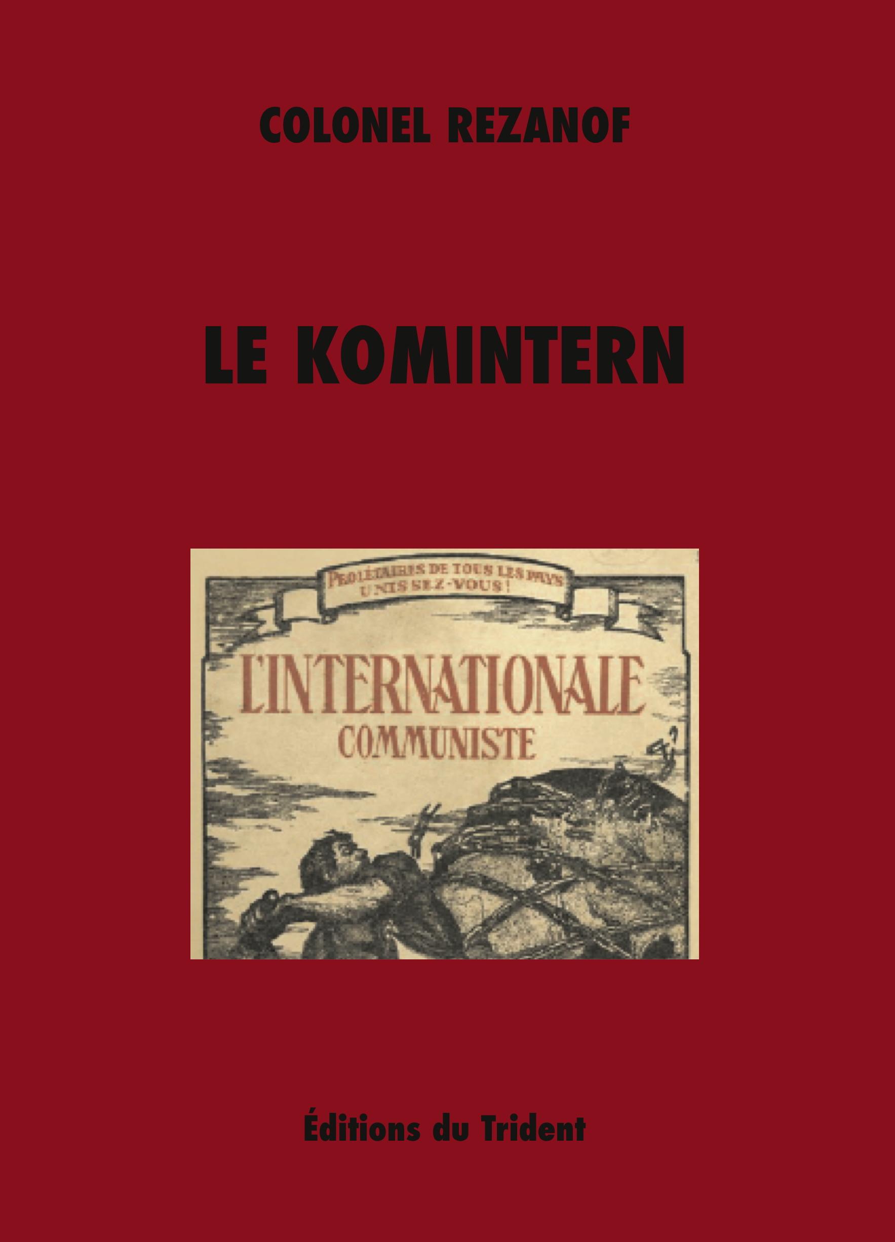 Couverture du livre du colonel Rezanoff