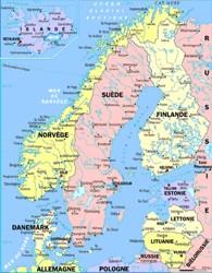 Carte Europe Du Nord En Francais.L Insolent Cette Europe Du Nord Qui Fait Front